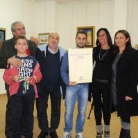 9 - Mostra Personale di Roberto Gabrieli - Inaugurazione - Monterotondo 2013